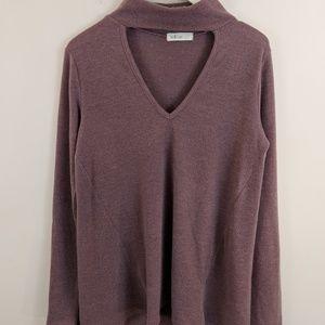 millibon Tops - | Sale | Millibon • Purple Long Sleeve Blouse